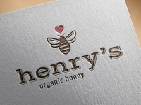 Henry's Honey - Logo Concept