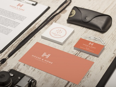 House & Home - Identity Concept