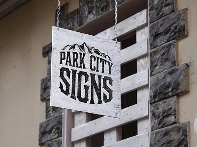 Park City Signs - Rebrand