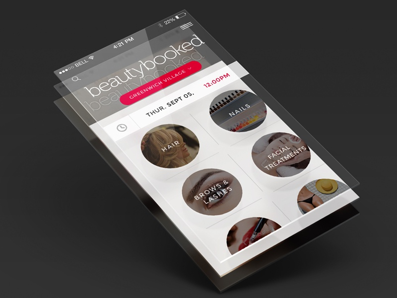 New Beauty App beauty uiux mobile