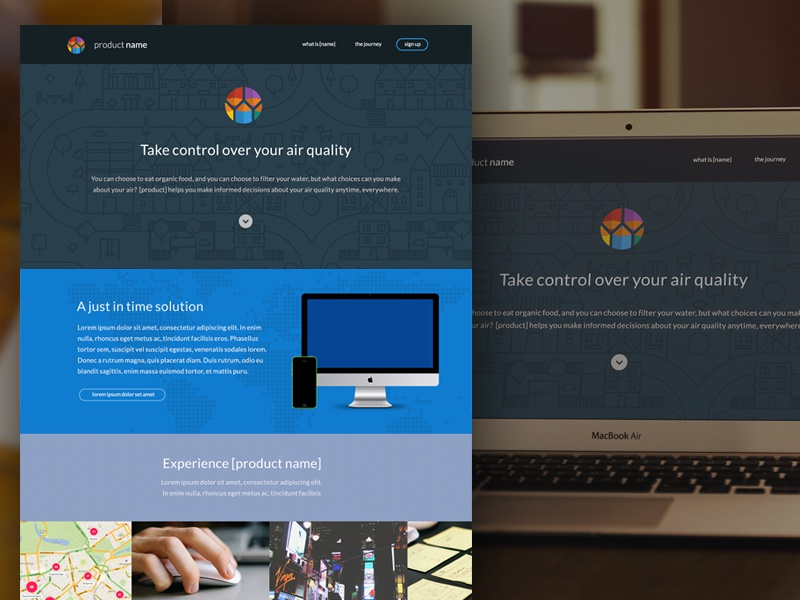 Homepage design 2