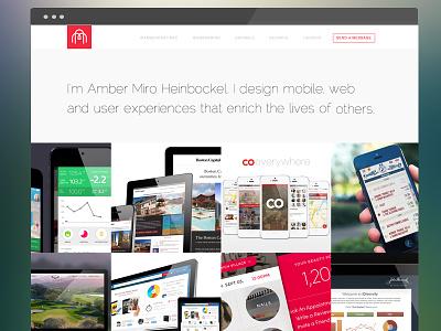 Amber Miro Homepage