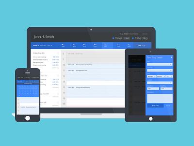 Simple Responsive Scheduling App