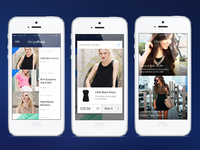 iBeacon Shopping Experience app shopping