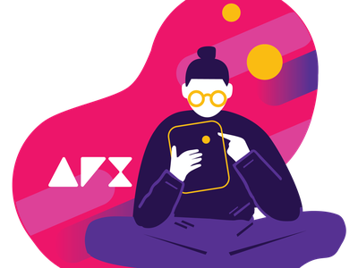 AFX sticker illustration illustrations illustration design sticker illustration