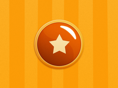Button button game orange yellow ios