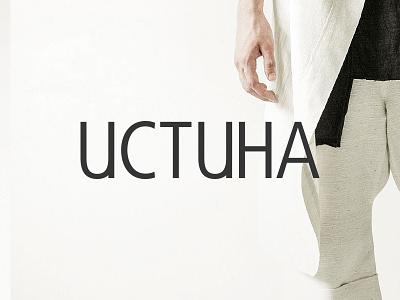 Uctuha - Logo white clothes fashion logotype branding clean minimalist design graphic logo