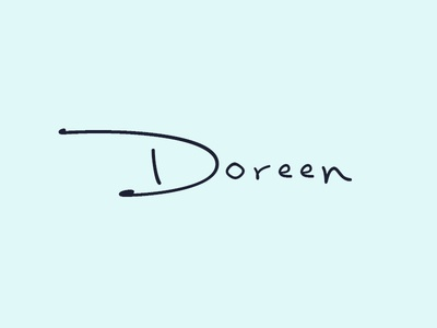 Doreen - Logo Exploration #2