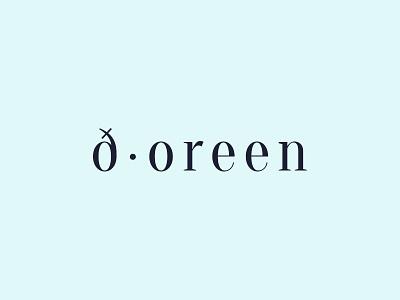 Doreen - Logo Final logotype symbol branding clean minimalist design graphic logo jewelry handmade feminine
