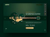 Guitar UI Daily UI   Free PSD