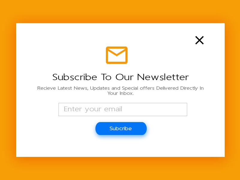 Newsletter best minimalism newsletter subscribe signup ux ui accra ghana