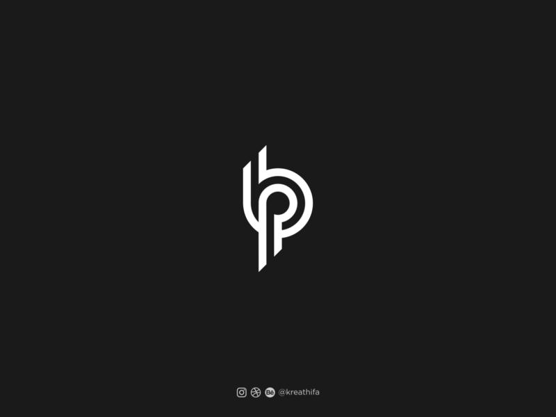 For Sale! BP initial Logo bp logo lettermark initial logo for sale monogram iconic logo branding golden ratio iconic logotype typography logo design graphic design logo