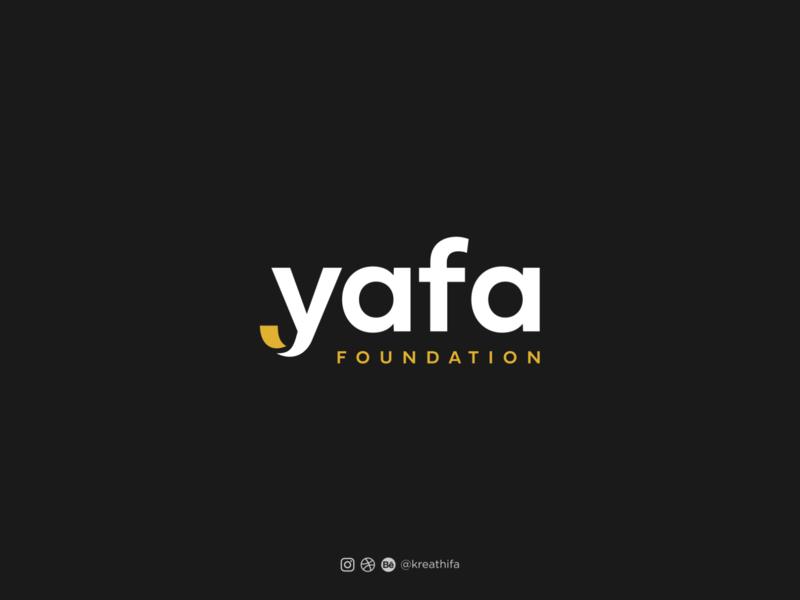 Yafa Foundation Logo Design food foundation handlettering logotype illustration initial golden ratio iconic logo logo design typography graphic design logo