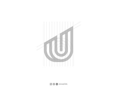 Monogram logo for UJR logo solution iconic logo logo sketch logo construction graphic design monogram logo monogram logo design logo