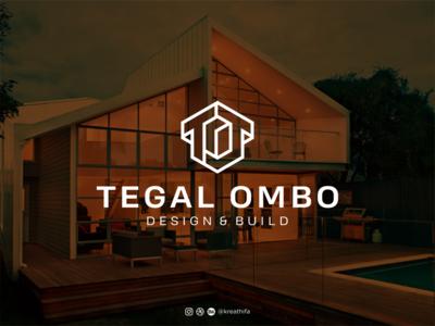 TEGAL OMBO LOGO structure architecture initial branding monogram logotype iconic logo golden ratio logo design typography graphic design logo