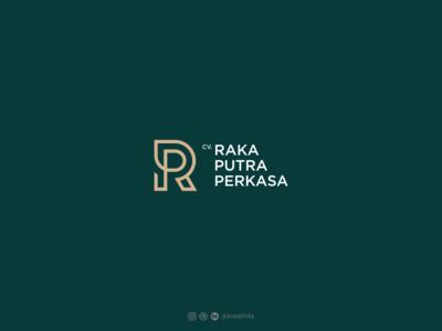 CV. RAKA PUTRA PERKASA monogram design design branding monogram logo monogram golden ratio initial typography logo design graphic design logo