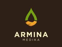 Armina Medika Logo Design