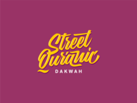 Lettering for Street Quranic Dakwah