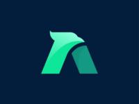 A icon logo