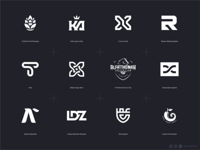 Kreathifa Logo Collection 2019 - Part 1