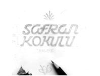 Safran Kokulu Logo Process