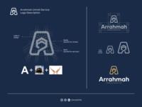 Arrahmah Umrah Service logo description