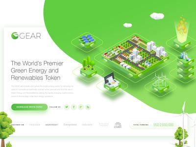 Blockchain Cryptocurrency ECO Green Company