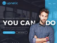 Upnetic Entrepreneur Marketing Website Design
