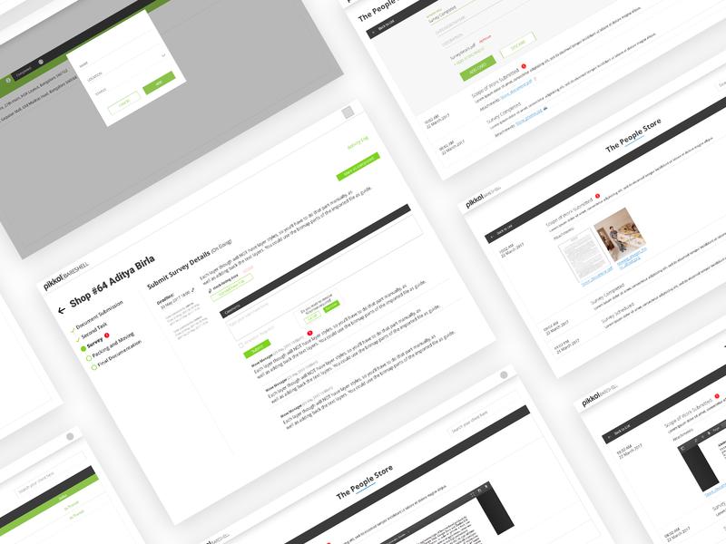 BARESHELL WebApp website ux ui app flat clean typography minimal design