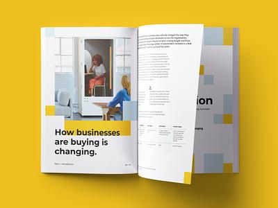 Kvadrant Brochure mockup layout brochure print