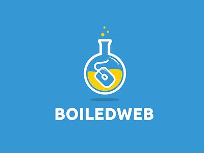 BoiledWeb logo flat identity branding boiledweb