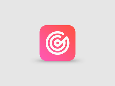 DailyUI - Day 005 App Icon record music flat icon app 005