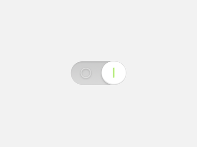 DailyUI - Day 015 On/Off Switch simple design ui off on switch 015