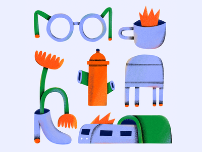 Doodles from Brooklyn inspiration shape editorial texture design color branding colors illustration
