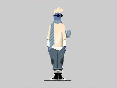 StreetWear texture character illustration wear street streetwear fashion