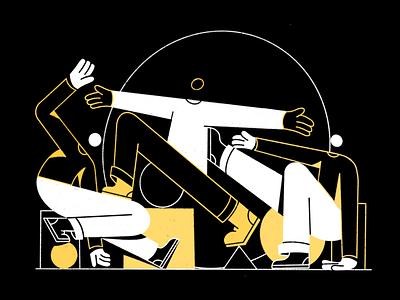 Messin around character design doodle procreate illustration