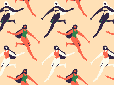 Ladies pattern illustration