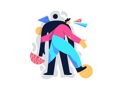 Escape illustrators color illustration