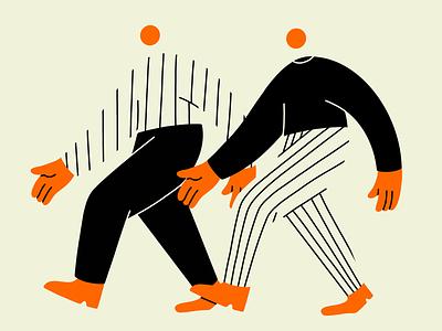 Two step illustration