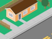 Small Orange House