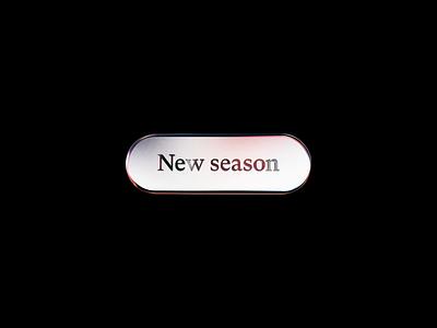 New Season 3d Badge visual design visual art after effects cinema 4d animation design 3d