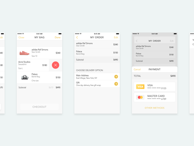 Purchase Interaction payment app shop ios interaction animation ux ui