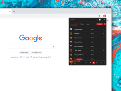Gaana Plugin for Google Chrome