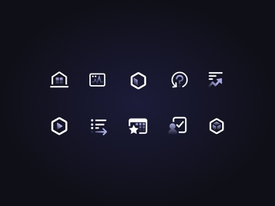 Icon System for DevOps Design System design systems devops request icon user icon code icon package icon home icon icon sheet symbolism symbols iconography icons