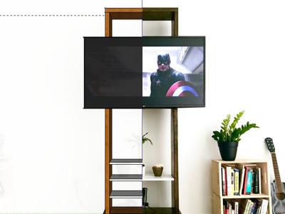 Exsto - Custom TV Stand tv stand custom exsto tv diy sketchup furniture design furniture