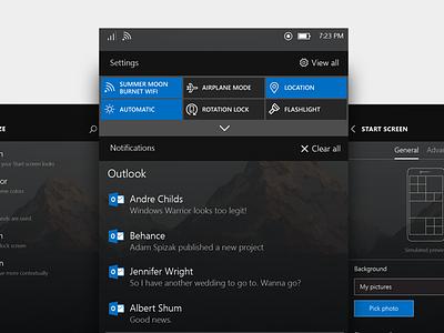 Windows Phone OS Exploration settings notifications microsoft dark windows mobile windows phone windows