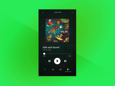 Spotify Multiple Playlists Concept prototypes album music playlists transitions figma protopie ui design app spotify