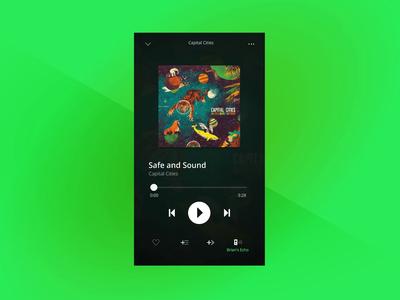 Spotify Multiple Playlists Concept prototypes album music playlists transitions figma protopie ui design app spotify