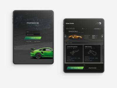 Porsche Track Coach iPad App