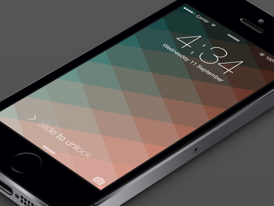 iPhone Wallpaper iphone wallpaper background colorful colors ios gradient isometric grid